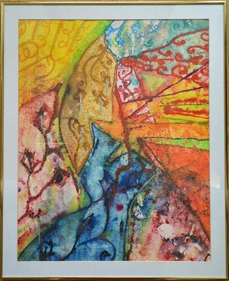Abstract art painting painting on paper Paintings that are worth a lot of money