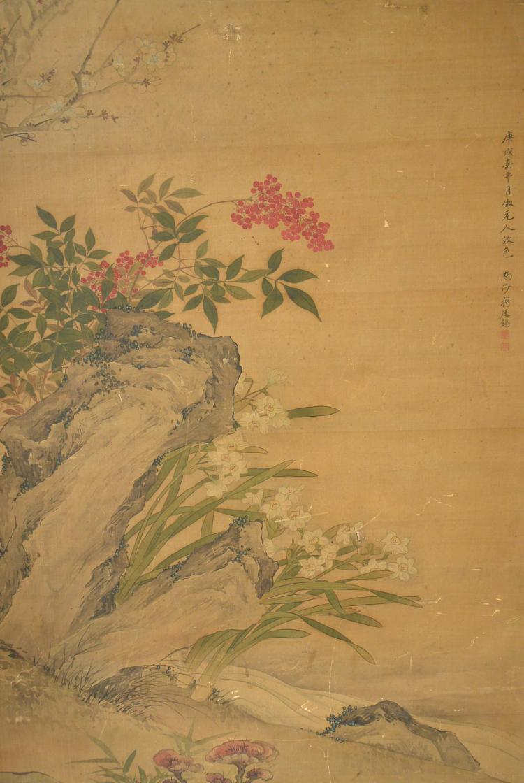 Jiang tingxi chinese painting Paintings that are worth a lot of money