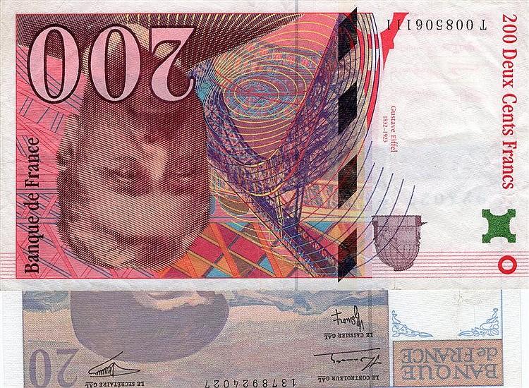 France 20 Francs UNC P-151i 1997