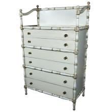 Maison Jansen Faux Bamboo and Gilt Decorated Dresser