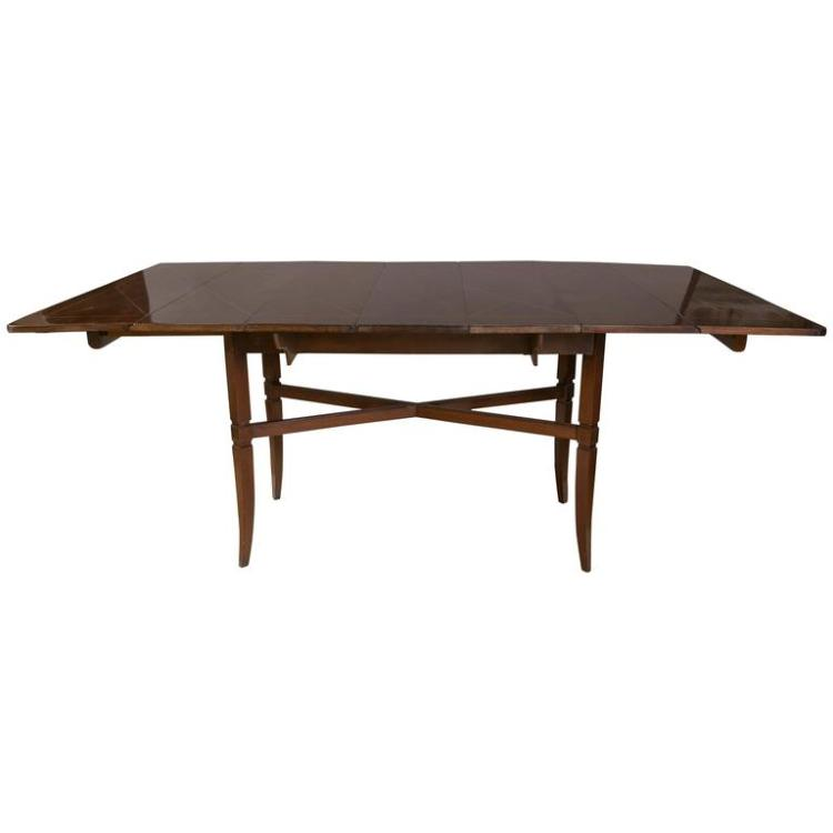 Charak Modern for Tommi Parzinger Drop Side Dining Table