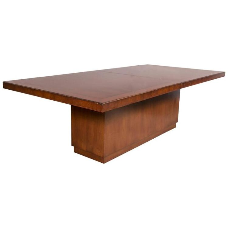 Palatial Ralph Lauren Modern Hollywood Dining Table