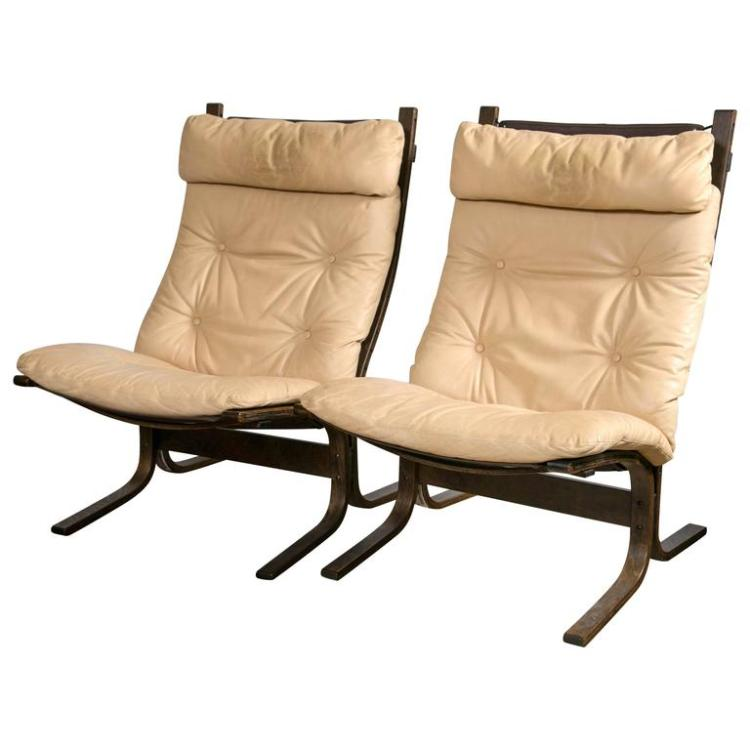 Pair of Westnofa ?Siesta? Lounge Chairs by Ingmar Relling