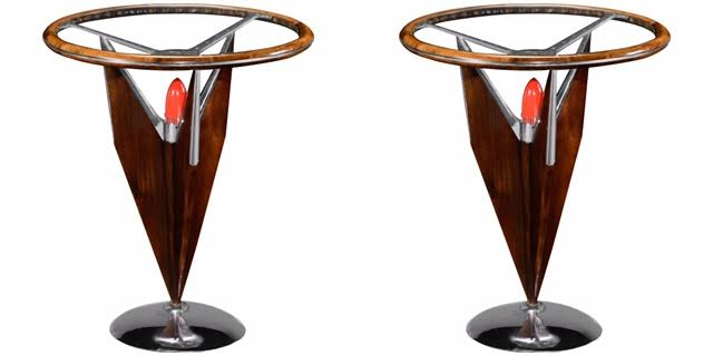 Jonathan Charles Tailfin Side Tables