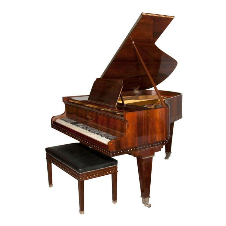 Art Deco Gaveau Baby Grand and Bench