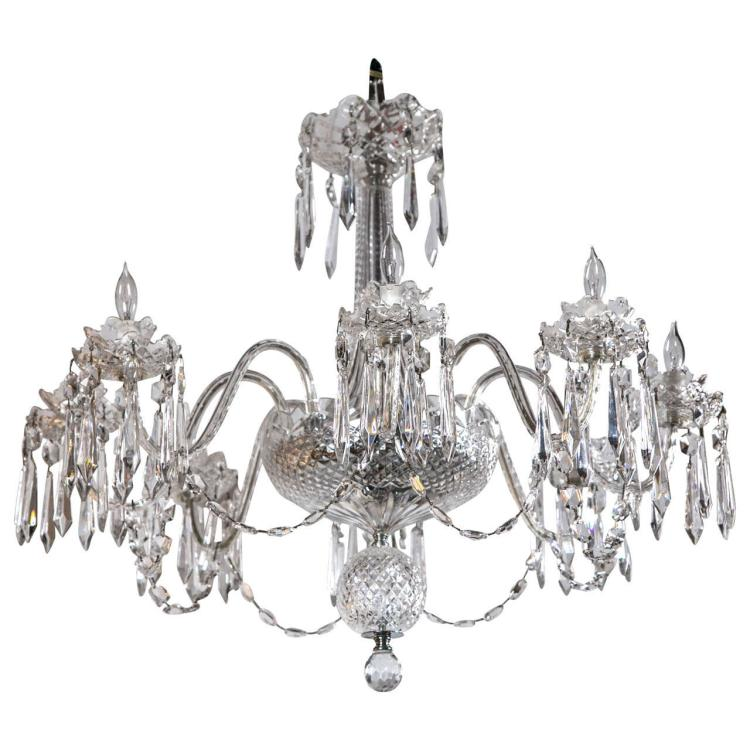 A Waterford Crystal Chandelier