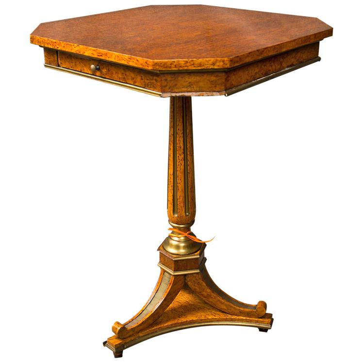 Russian Period Centre End Table Circ. 1810