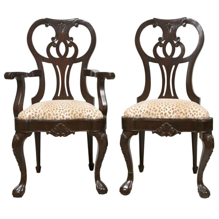 Set of Ten Ralph Lauren Dining Chairs