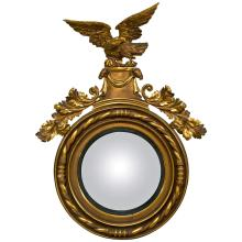 American Federal Style Eagle Convex Mirror