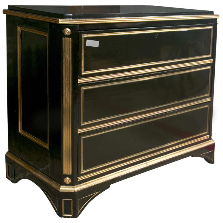 Russian Neoclassical Style Commode or Chest of Drawers