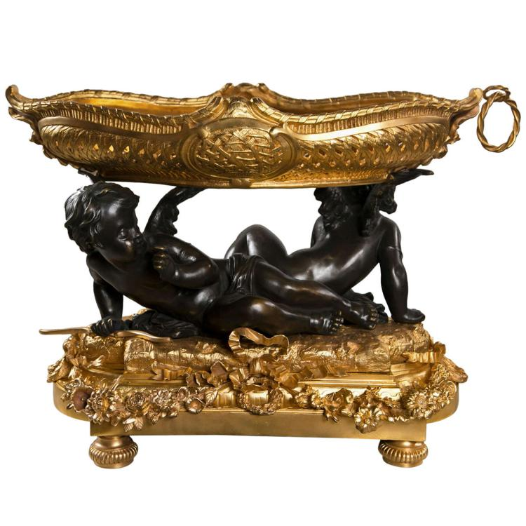 French Art Nouveau Style Centerpiece