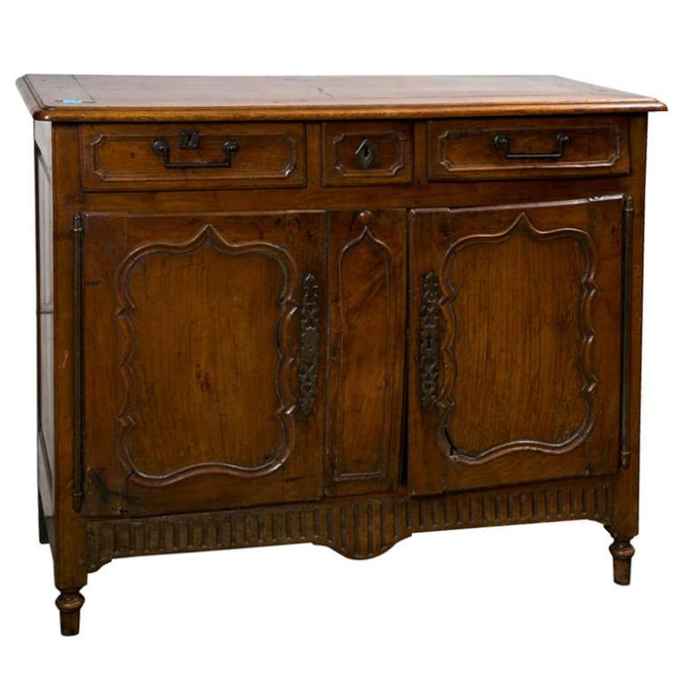 18th Century Provincial Walnut Cabinet