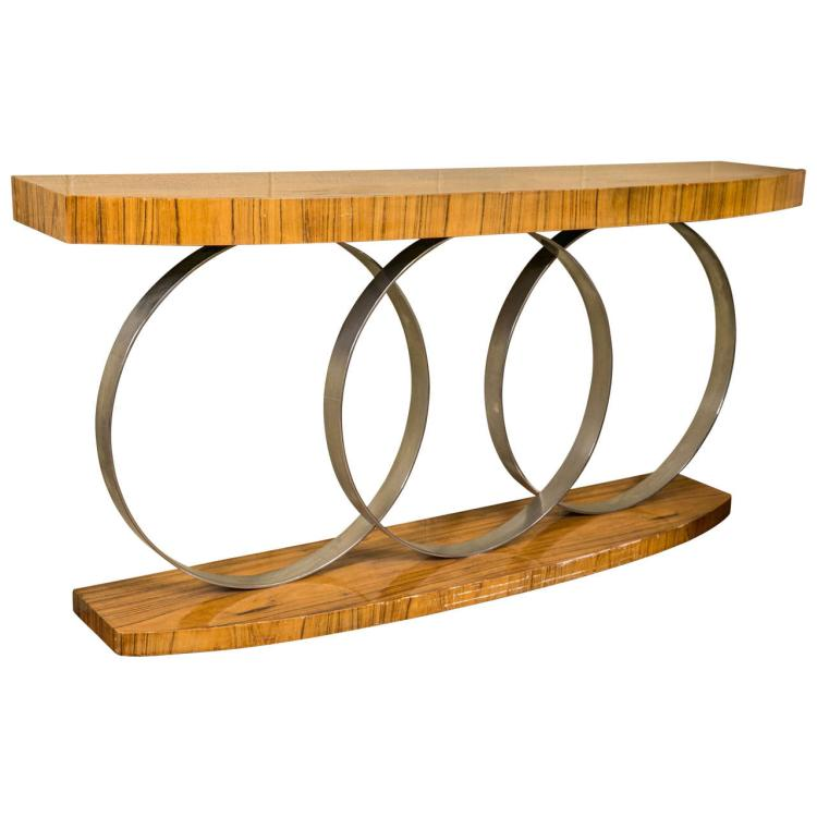 Art Deco Style Console Table