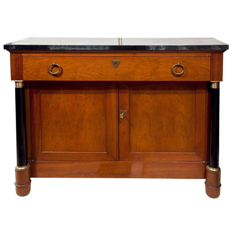 German Bierdermier Style Cabinet