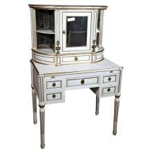 French Louis XIV Style Painted Vanity by Jansen
