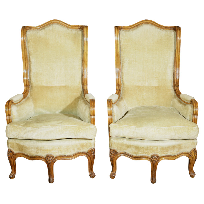 Pair of French Provincial Armchairs