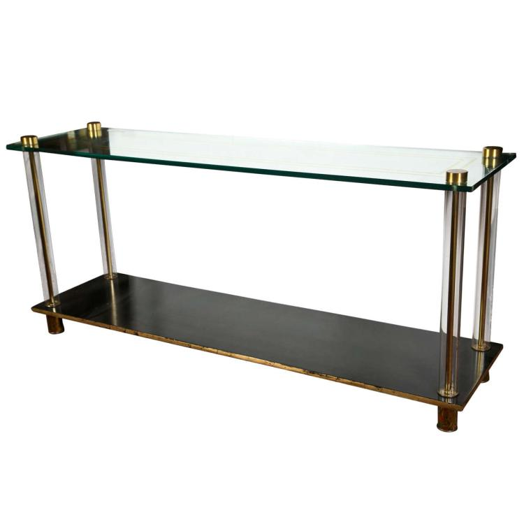 Mid-Century Style Console Table by Jansen