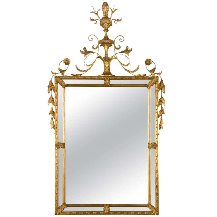 French Classical Style Gilded Mirror