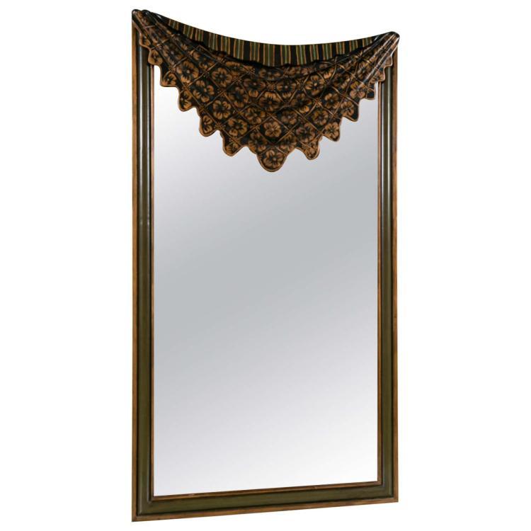 Dorothy Draper Style Drapey Form Mirror