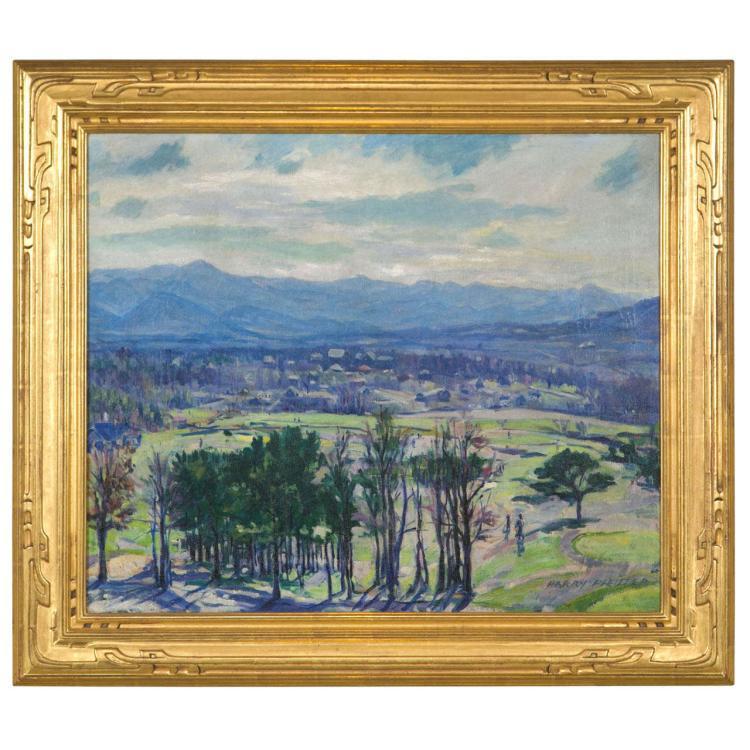 Oil on Canvas by Harrry Pfeiffer American (1874 - 1960)