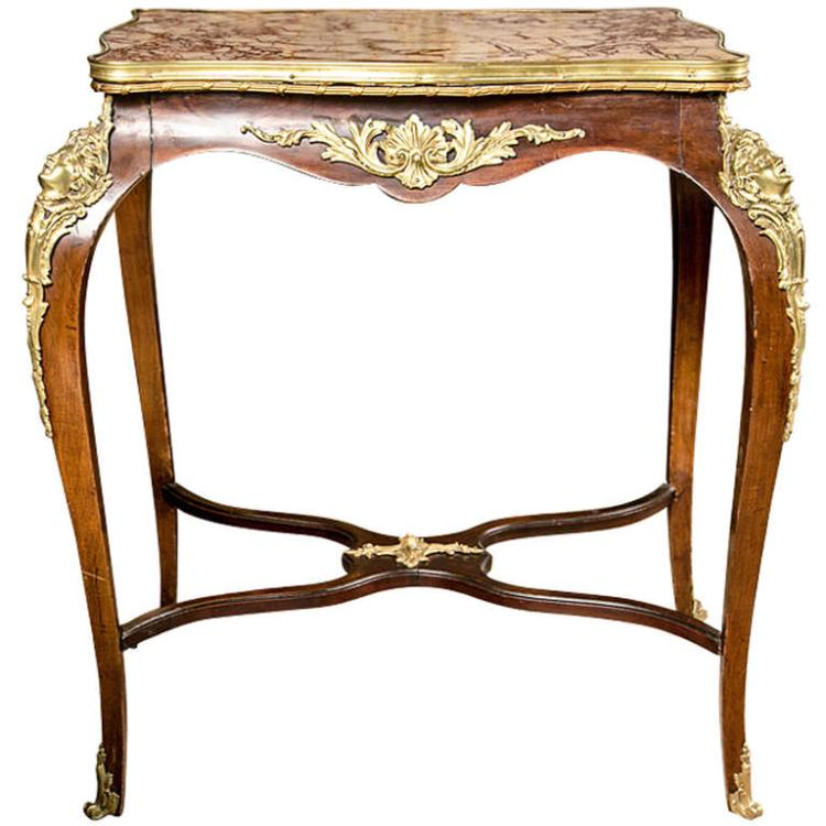 French Louis XVI Style End Table