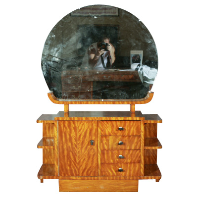 Art Deco Vanity with Mirror