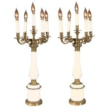 Pair of Candelabras