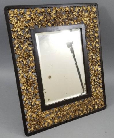 Antique 19th C Victorian Bradley Hubbard Mirror