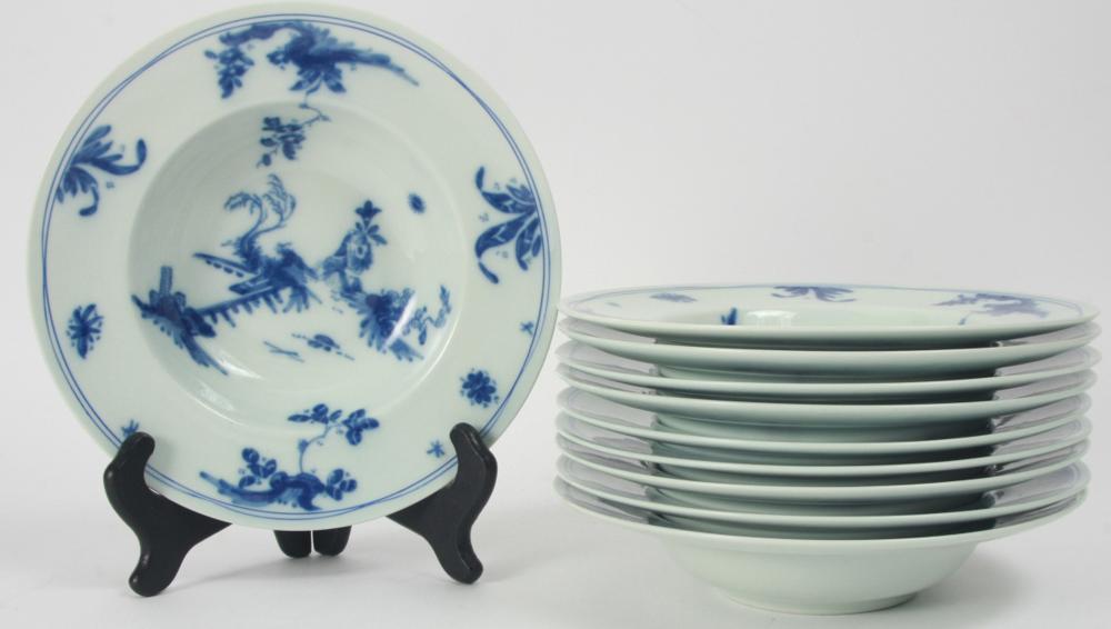 10 Limoges Raynaud Ceralene Porcelain Bowls