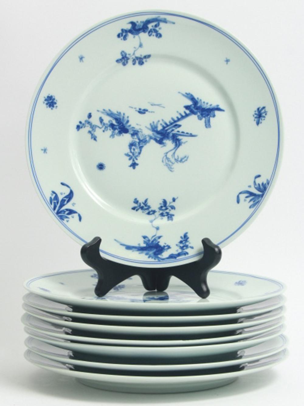 8 Limoges Raynaud Ceralene Porcelain Dinner Plates