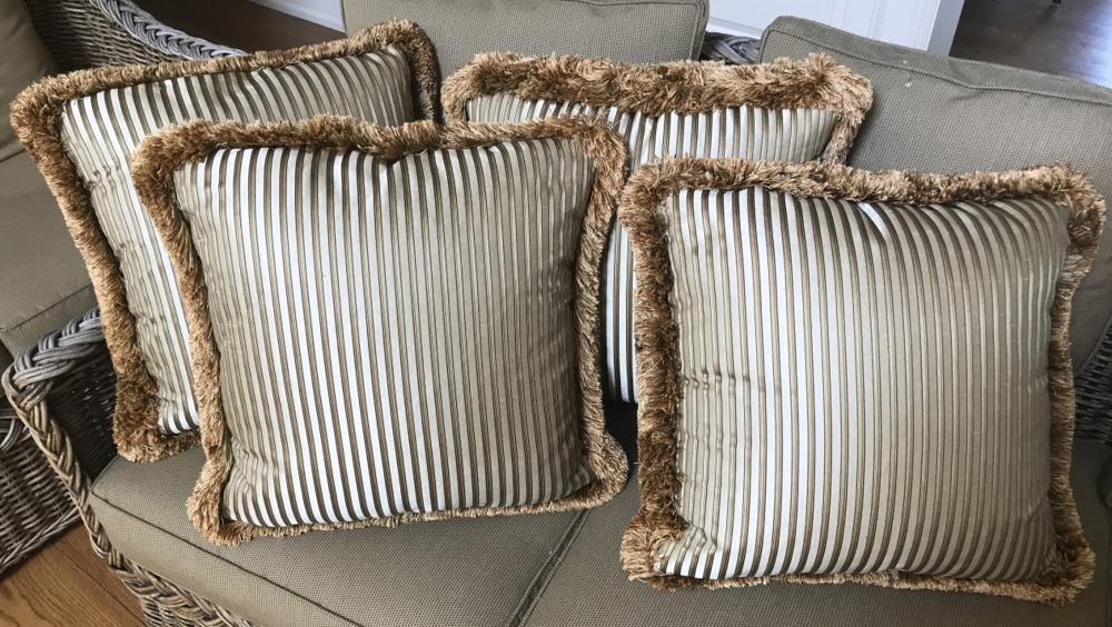 Four Down Blend Custom Made Contemporary Pillows