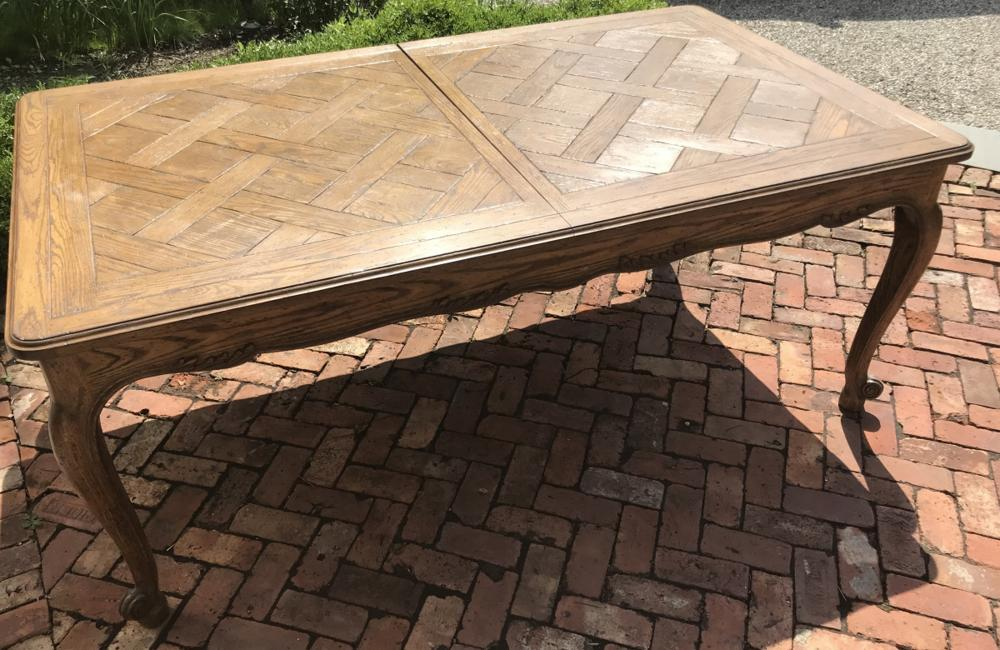 French Country Provencal Style Dining Table