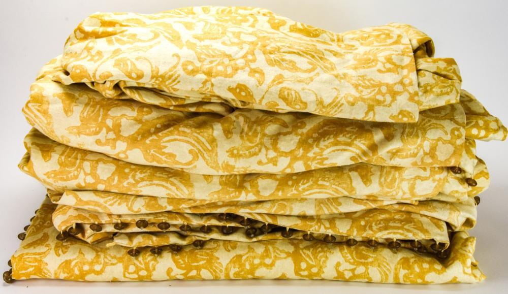 5 Michael Tavano Custom Designer Curtain Panels