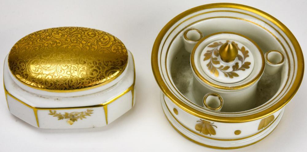 Decor Main Limoges + Al-Ka-Kunst Vanity Boxes