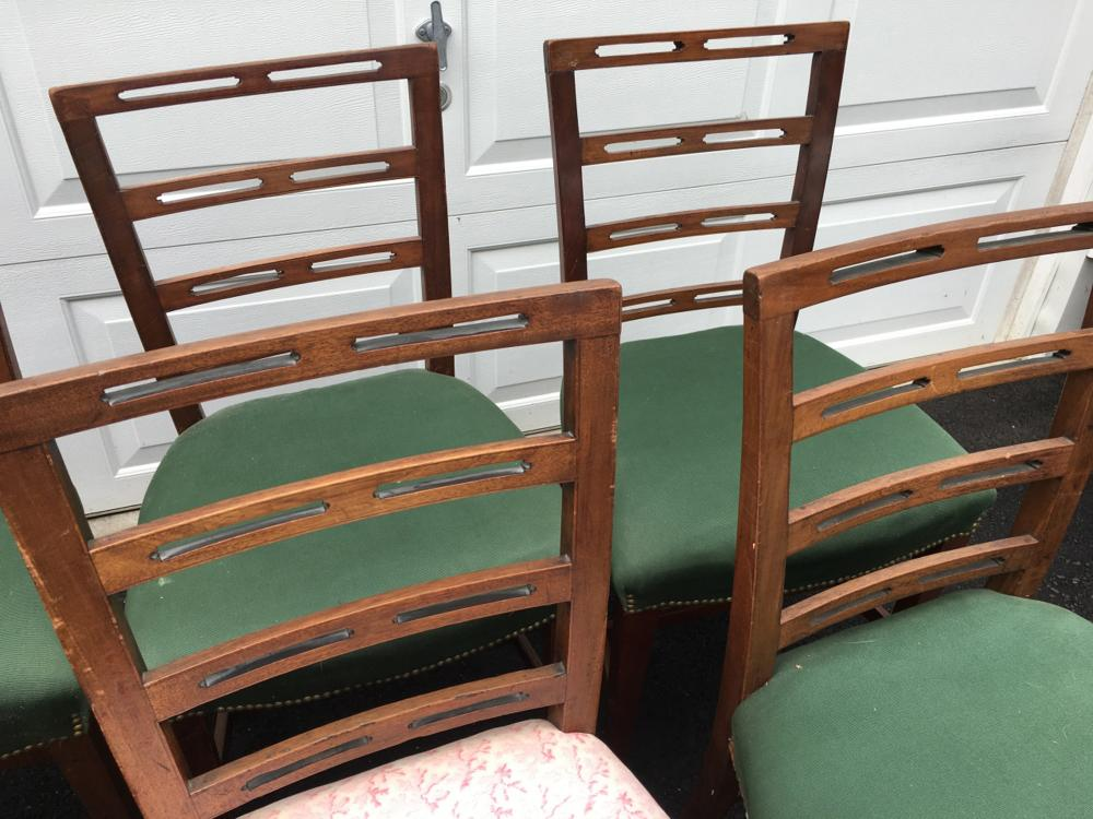 Excellent 6 Sheraton Ribbon Back Dining Chairs Short Links Chair Design For Home Short Linksinfo