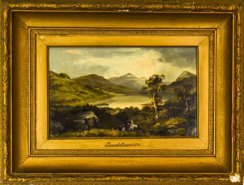Samuel Bough Antique 19th C Landscape Painting