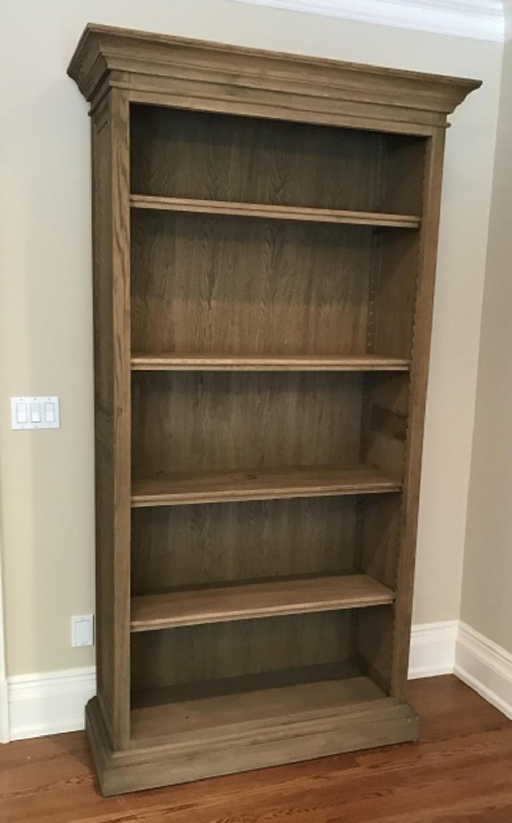 Large Scale Contemporary Distressed Bookcase