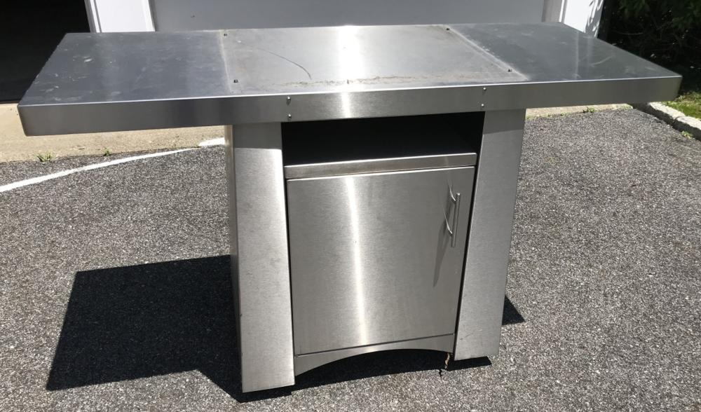 Contemporary Stainless Steel Prep / Work Table