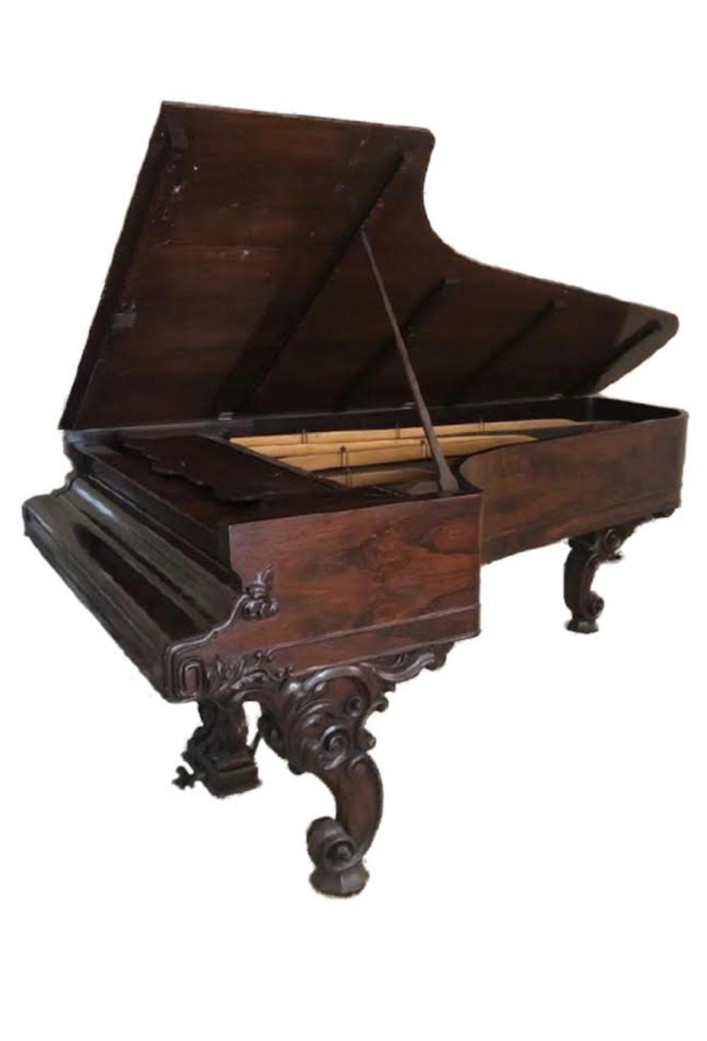 Antique 1859 Steinway Rosewood Concert Grand Piano