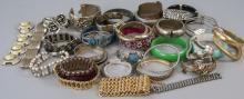 Assorted Vintage Costume Jewelry Bracelets