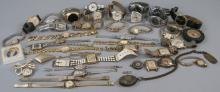 Group of Antique & Vintage Watches & Watch Parts