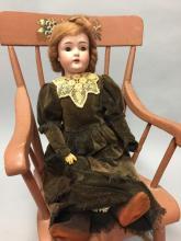 Antique German Bisque Head Doll 171