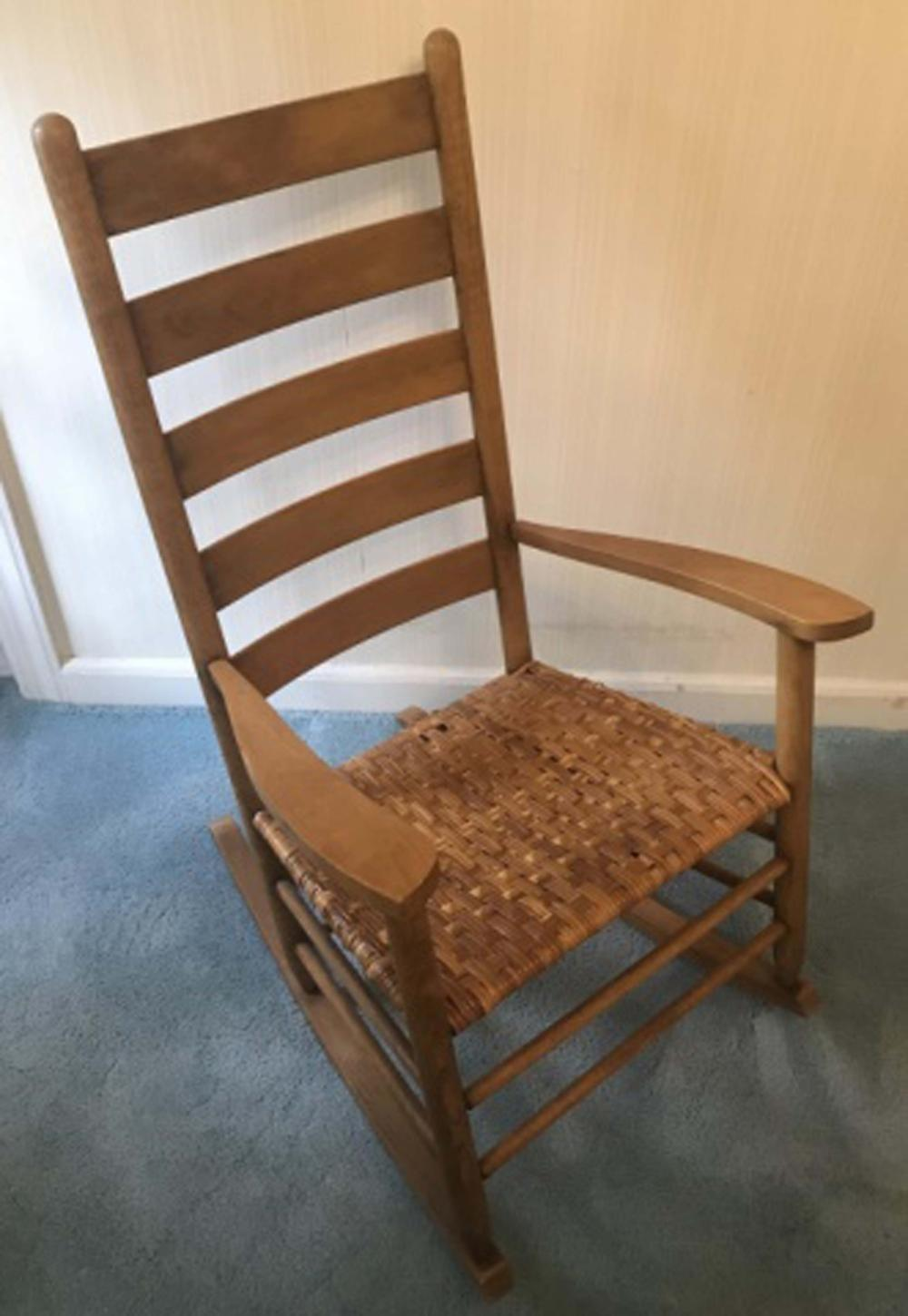 Antique American Shaker Style Rocking Chair