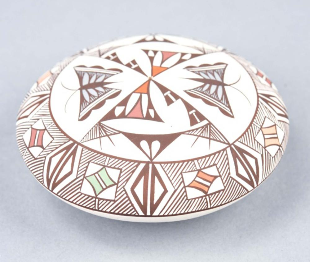 S Lewis Acoma New Mexico Art Pottery Sculpture