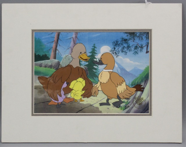 The Ugly Duckling - Animation Cel w Certificate