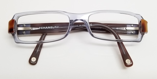 Vintage Chanel Jeweled Logo Reading Glasses Frames