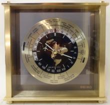 Mid-Century Swiss Desk Clock