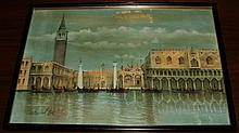 Venetian Canals- Richard Carniel- Pastel/Canvas