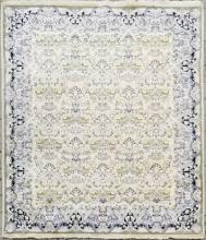 Hand Knotted Wool Persian Oriental Throw Carpet