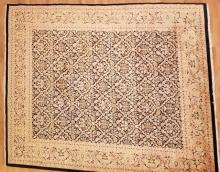 Hand Knotted Wool Silk Persian / Oriental Carpet